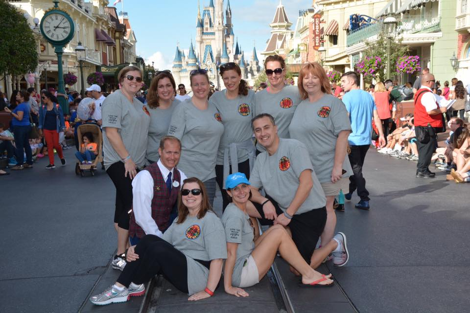 Love the Mouse team at Cinderella's Castle